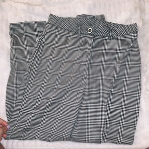 NEW LOOK • gingham pants